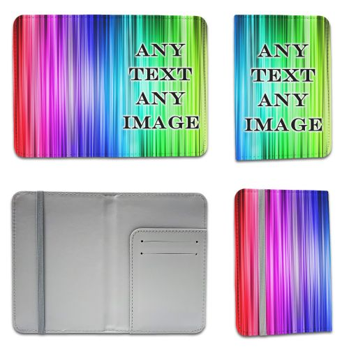 Personalised Any Text / Any Image Passport Holder